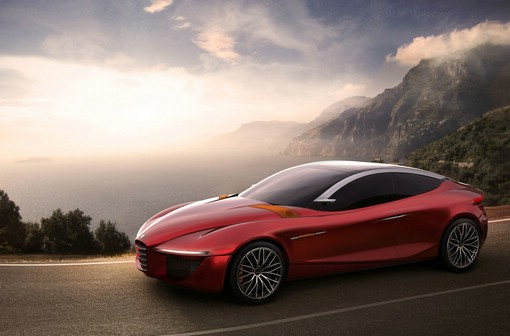 Der Gloria ist ein Konzeptfahrzeug des Herstellers Alfa Romeo