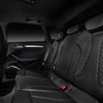 Das Fond des Audi S3 Sportback mit Ledersitzen