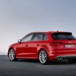 Der neue Audi S3 Sportback in der Heckansicht