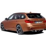 Die Heckpartie des BMW 3er Touring AC Schnitzer