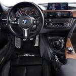 Das Cockpit vom BMW 3er Touring AC Schnitzer