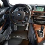 Das Cockpit des BMW 6er Gran Coupe AC Schnitzer