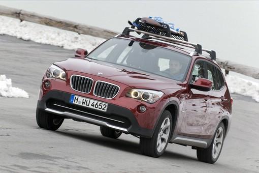 Der aktuelle BMW X1 von vorne