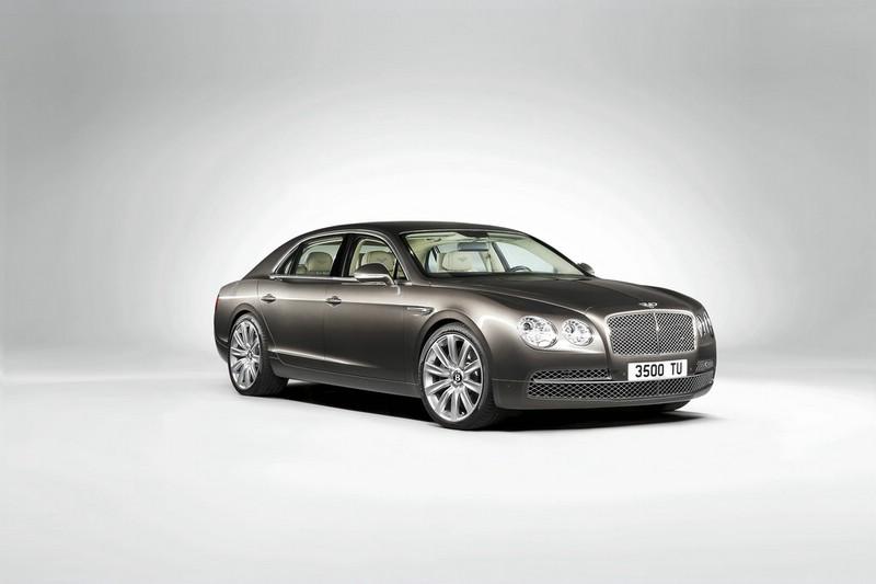 Bentley Flying Spur in der Frontansicht