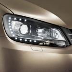 Die Bi-Xenon-Scheinwerfer des VW Caddy