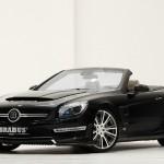 Brabus 800 Roadster 2013 in der Frontansicht
