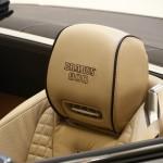 Die Sitze des Brabus 800 Roadster in Leder