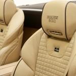 Brabus Aufschrift auf Sitzen des 800 Roadster