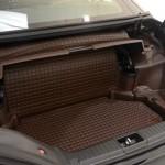 Der Kofferraum des Brabus 800 Roadster