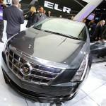 Kühlergrill und die Frontansicht des Cadillac ELR