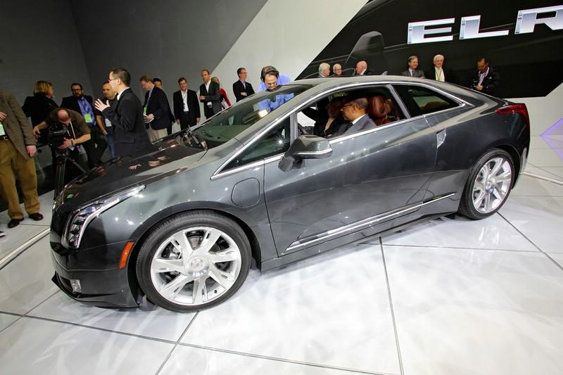 Der Cadillac ELR auf einer Automesse im Jahre 2012