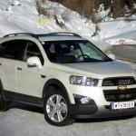 Facelift Chevrolet Captiva 2013 wird in Genf zu sehen sein