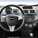 Das neue Cockpit des neuen Chevrolet Spark