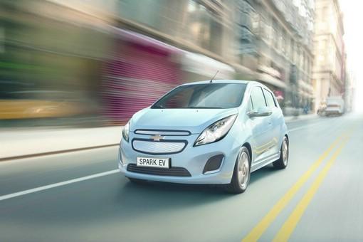 Der 2014er Chevrolet Spark EV wird auf dem Genfer Autosalon zu sehen sein