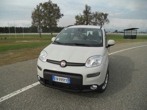 Der aktuelle Fiat Panda Natural Power in weiss