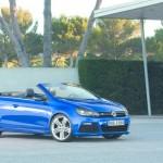 Fotos vom Volkswagen Golf R Cabrio (Standaufnahme, Außendesign)