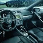 Lederausstattung im VW Golf R Cabriolet