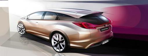 Das Honda Civic Wagon Concept wird in Genf zu sehen sein