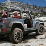 Jeep-Wrangler Rubicon 10th Anniversary Edition Bildergalerie Außendesign