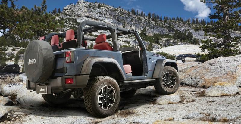 Jeep-Wrangler Rubicon 10th Anniversary Edition Bildergalerie Außendesign