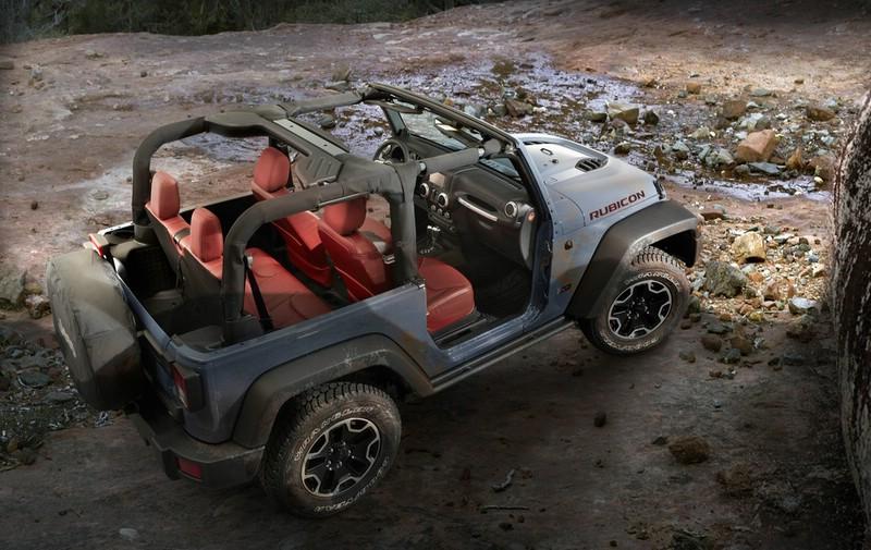 Jeep-Wrangler Rubicon 10th Anniversary Edition 2013 Exterieur Bilder