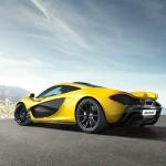 McLaren P1 in Gelb Exterieur Fotos
