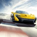Die Frontansicht des McLaren P1