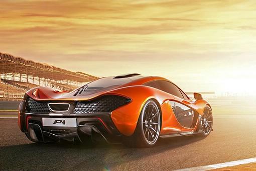 McLaren Supersportwagen P1 2013 Exterieur