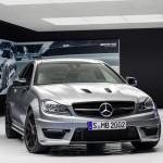 Die Frontpartie des Mercedes-Benz C 63 AMG Edition 507