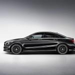 Mercedes-Benz CLA Edition 1 in der Lackfarbe Kosmosschwarz