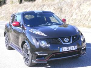 Nissan Juke Nismo in der Frontansicht