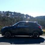Der neue Nissan Juke Nismo in der Seitenansicht