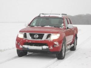 2013er Nissan Navara Front, Kühlergrill