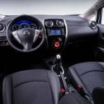 Das Armaturenbrett des Nissan Note