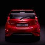 Die Heckpartie des 2013-er Nissan Note