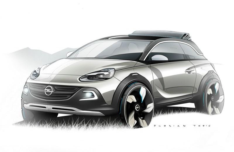 Opel Adam Rocks Conzept Exterieur Bilder