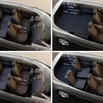 Der Innenraum des Opel Zafira Tourer Biturbo Sitze und Staumöglichkeiten