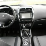 Das Armaturenbrett des Peugeot 4008
