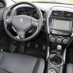 Das Cockpit des Peugeot 4008