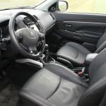 Der Innenraum des Peugeot 4008 mit Lederausstattung