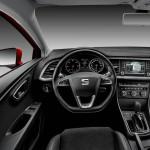 Das Cockpit des neuen Seat Leon als Ecomotive 1.4 TSI