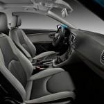 Der Innenraum des Seat Leon Ecomotive 1.4 TSI - Sitze