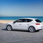 Weißer Seat Leon Ecomotive 1.4 TSI Fotos vom Außendesign