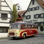Der Setra-Bus S 6 wurde in den 1950er Jahren gebaut