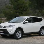 2013-er Toyota RAV4 in Weiss Exterieur Bilder