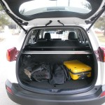 Der Gepäckraum des Toyota RAV4 4. Generation
