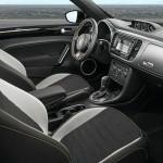 Das Interieur des Volkswagen Beetle GSR