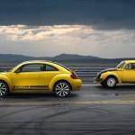 Der Beetle GSR und der 40 Jahre ältere Bruder Käfer 1303 S GSR