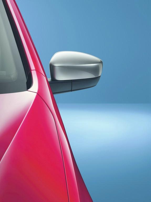 Die Außenspiegel des VW Cheer Up