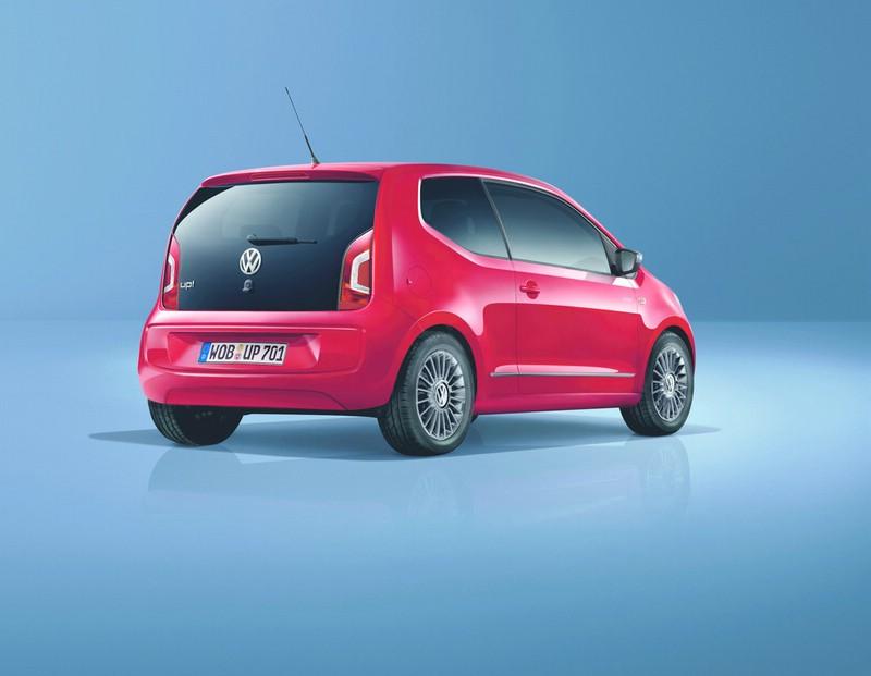 VW Cheer Up 2013 in der Heckansicht